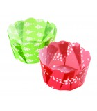 P60 x 140SC-011 - Paper Daisy Cup, Mixed Christmas Pack 75g (1000 ctn)