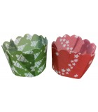 P40 x 105SC-011 - Paper Daisy Cup, Mixed Christmas Pack 25g (1500 ctn)