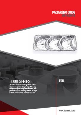 6000 Series- Square or Rectangular Trays